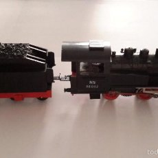 Trenes Escala: LIMA. LOCOMOTORA VAPOR CON TENDER. HO.. Lote 197870301