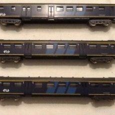 Trenes Escala: LIMA. TRES VAGONES DE PASAJEROS.. Lote 58399680