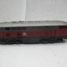 Trenes Escala: LIMA - LOCOMOTORA DIESEL DE LA DB V 160 011 CORRIENTE CONTINUA - ESCALA H0. Lote 62507020