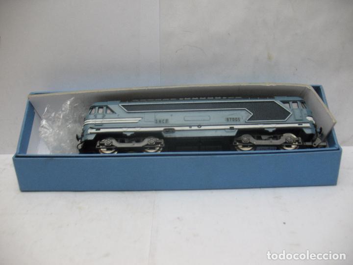 Trenes Escala: LIMA - Locomotora diésel digital de corriente de corriente continua de la SNCF 67001 - Escala H0 - Foto 2 - 68121033