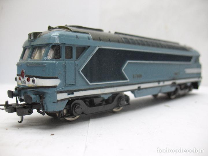 Trenes Escala: LIMA - Locomotora diésel digital de corriente de corriente continua de la SNCF 67001 - Escala H0 - Foto 4 - 68121033