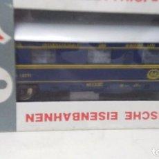 Trenes Escala: ANTIGUO VAGON PASAJEROS COCHES CAMAS DE LIMA ESCALA H0. Lote 76860567