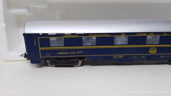 Trenes Escala: antiguo vagon pasajeros coches camas de lima escala h0 - Foto 2 - 76860567
