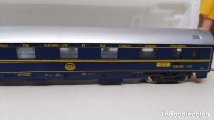 Trenes Escala: antiguo vagon pasajeros coches camas de lima escala h0 - Foto 3 - 76860567
