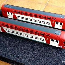 Trenes Escala: TREN AUTOMOTOR LIMA VB2N REFEFERIZADO RENFE 450 ESCALA H0 ANALÓGICO DC. Lote 78485493