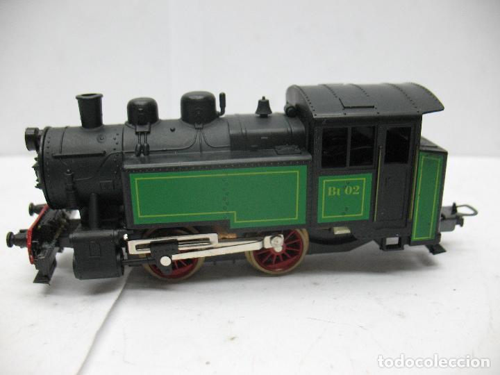 Trenes Escala: Lima Ref: L203001 - Locomotora de vapor Bt 02 corriente continua - Escala H0 - Foto 2 - 81304032