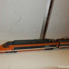 Trenes Escala: TREN DE ALTA VELOCIDA Y LOCOMOTORA TGV MARCA LIMA. Lote 86341552
