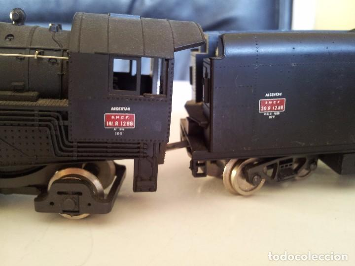 Trenes Escala: locomotora vapor sncf 141 r1288 - Foto 6 - 90166828