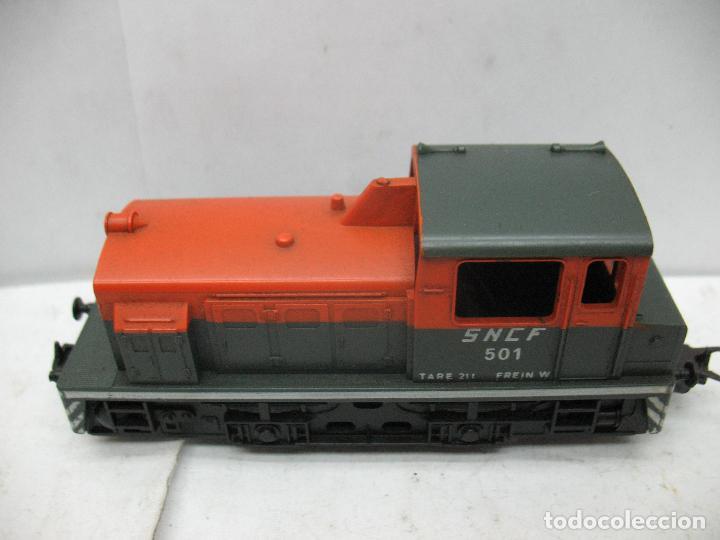 Trenes Escala: Lima - Locomotora Diesel de la SNCF 501 corriente continua - Escala H0 - Foto 2 - 159344689