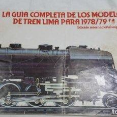 Trenes Escala: CATALOGO 78 79 LIMA. Lote 95967203