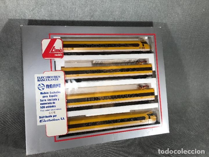 ELECTROTREN BASCULANTE RENFE, LIMA SERIE LIMITADA N• 276 (Juguetes - Trenes a Escala H0 - Lima H0)