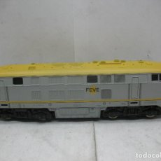Trenes Escala: LIMA - LOCOMOTORA DIESEL FEVE CORRIENTE CONTINUA - ESCALA H0. Lote 99053031