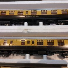Trenes Escala: PAR COCHES HO LIMA L5313 Y 5333 GREAT WESTERN. Lote 100731700
