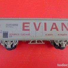 Trenes Escala: VAGON DE CARGA, EVIAN, ESCALA HO,,LIMA, ITALIA..PRECIOSO.. Lote 103441271
