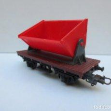 Trenes Escala: VAGON DE CARGA OSCILANTE -LIMA ITALYA - ESCALA HO. Lote 143280566