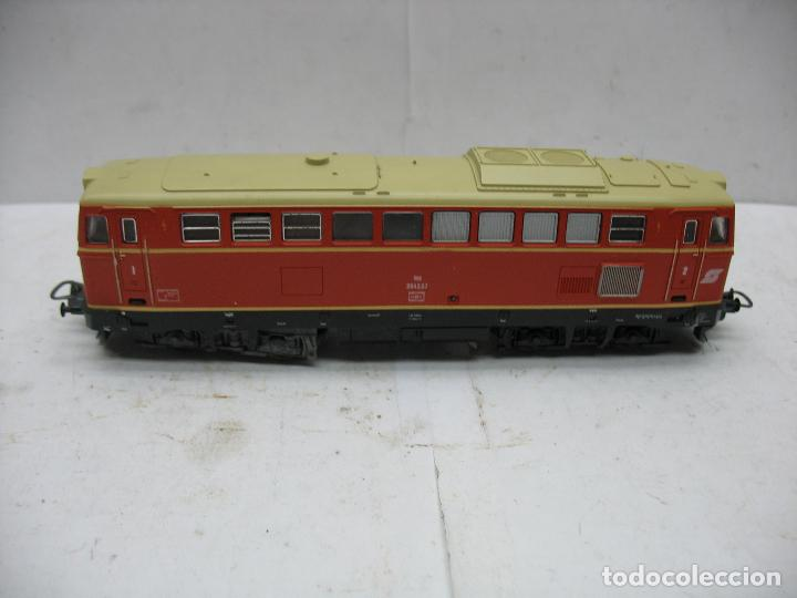 Trenes Escala: Lima Ref: 20 8048L - Locomotora Diesel 2043.57 de la OBB corriente continua - Escala H0 - Foto 2 - 115480035