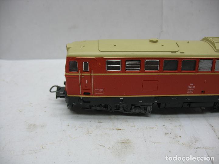 Trenes Escala: Lima Ref: 20 8048L - Locomotora Diesel 2043.57 de la OBB corriente continua - Escala H0 - Foto 3 - 115480035