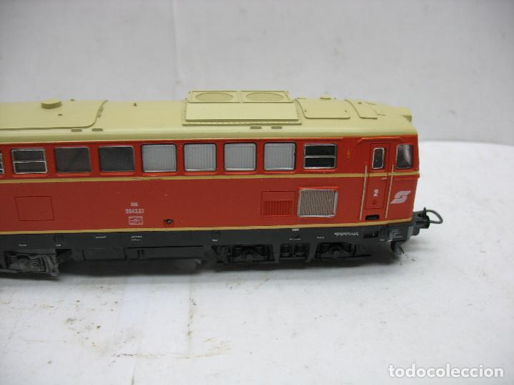 Trenes Escala: Lima Ref: 20 8048L - Locomotora Diesel 2043.57 de la OBB corriente continua - Escala H0 - Foto 4 - 115480035