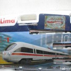 Trenes Escala: LIMA - SET DE INICIANCIÓN ICE CON LOCOMOTORA, VAGONES, VÍAS... CORRIENTE CONTINUA. Lote 115706323