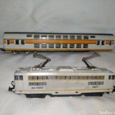 Scale Trains - LOCOMOTORA + VAGÓN. LIMA (ITALY) ELÉCTRICA BB.17029 SNCF. - 127990271