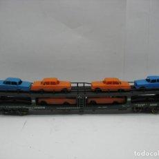 Trenes Escala: LIMA - PORTA COCHES PORTA COCHES DE LA DB - ESCALA H0. Lote 128413695