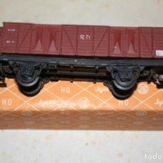 Trenes Escala: VAGON MERCANCIA ABIERTO MARCA JYESA RENFE REF 1505/2. Lote 132935946