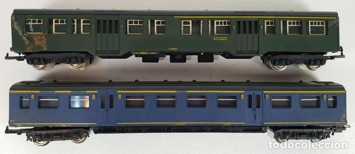 Trenes Escala: COLOECCIÓN DE 5 VAGONES DE TREN. LIMA. ESCALA H0. CAJAS ORIGINALES. SIGLO XX. - Foto 2 - 133225042