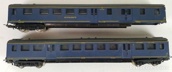 Trenes Escala: COLOECCIÓN DE 5 VAGONES DE TREN. LIMA. ESCALA H0. CAJAS ORIGINALES. SIGLO XX. - Foto 3 - 133225042