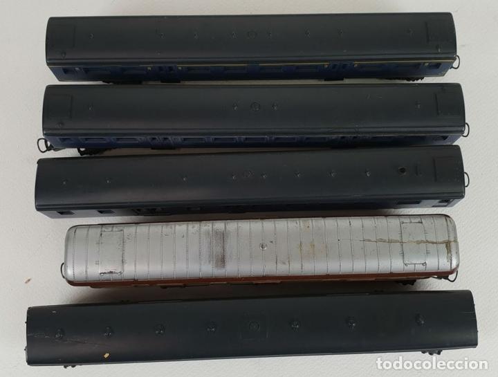 Trenes Escala: COLOECCIÓN DE 5 VAGONES DE TREN. LIMA. ESCALA H0. CAJAS ORIGINALES. SIGLO XX. - Foto 6 - 133225042