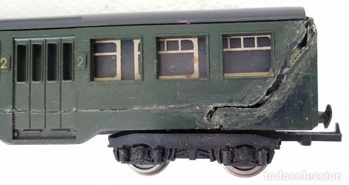 Trenes Escala: COLOECCIÓN DE 5 VAGONES DE TREN. LIMA. ESCALA H0. CAJAS ORIGINALES. SIGLO XX. - Foto 11 - 133225042