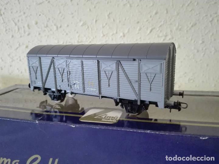 VAGÓN CERRADO GS , RENFE , REF. 303624 (Juguetes - Trenes a Escala H0 - Lima H0)