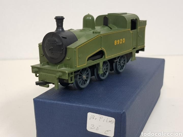 Trenes Escala: Lima escala H0 locomotora a pilas 8920 verde y negra - Foto 2 - 135222283