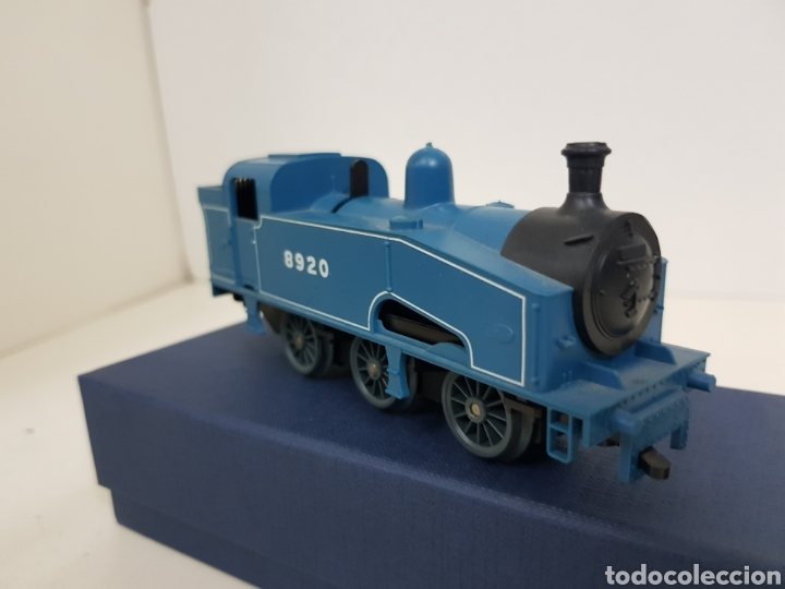 Trenes Escala: Lima 8920 locomotora a pilas de vapor escala H0 azul - Foto 2 - 135222419