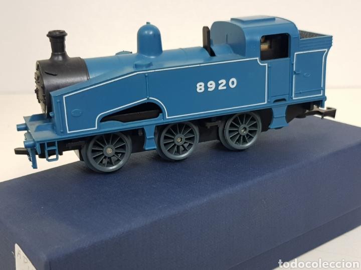 Trenes Escala: Lima 8920 locomotora a pilas de vapor escala H0 azul - Foto 3 - 135222419