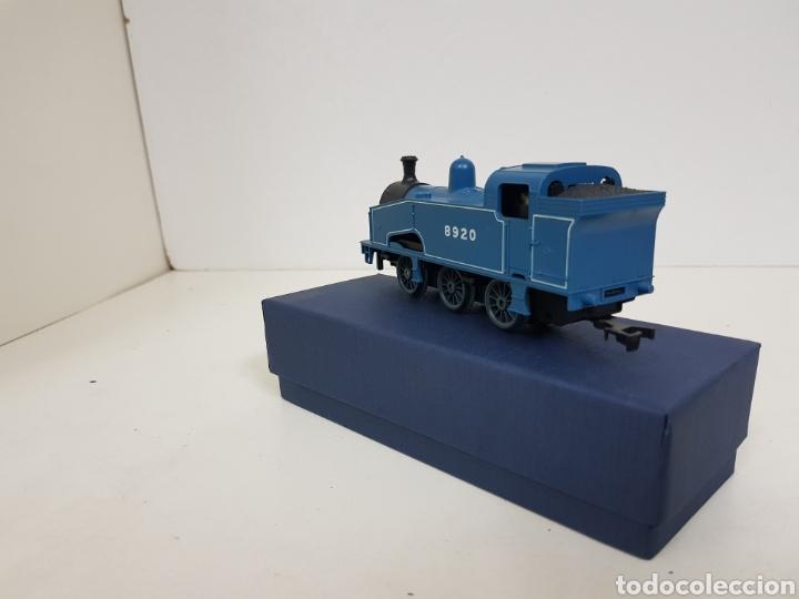 Trenes Escala: Lima 8920 locomotora a pilas de vapor escala H0 azul - Foto 4 - 135222419