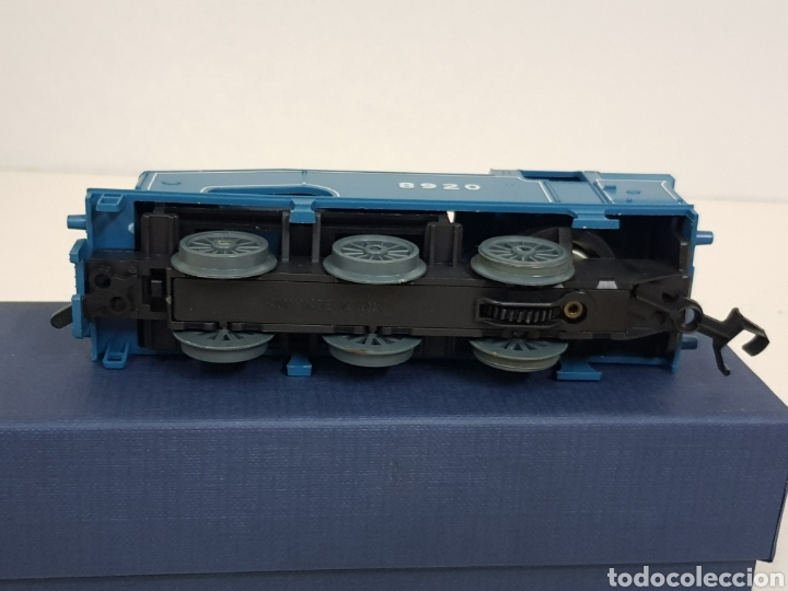 Trenes Escala: Lima 8920 locomotora a pilas de vapor escala H0 azul - Foto 5 - 135222419