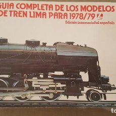 Trenes Escala: CATÁLOGO LIMA (1978/79). Lote 135249214
