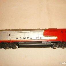 """Trenes Escala: LOCOMOTORA DIESEL FP 45 """"SANTA FE"""" . Lote 150179545"""