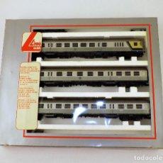 Trenes Escala: LIMA CONJUNTO DE COCHES PASAJEROS DB. Lote 139229306