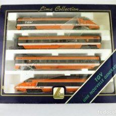Trenes Escala: LIMA TREN TGV H0/AC. Lote 143211805