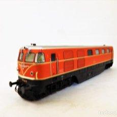 Trenes Escala: LIMA LOCOMOTORA SERIE 2050 DE LA OBB (ROJA). Lote 140029066