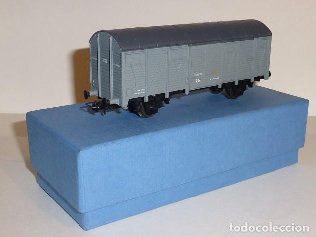 0086-LIMA VAGÓN CERRADO TIPO J EPOCA III R.N. H0 - 1/87 (Juguetes - Trenes a Escala H0 - Lima H0)