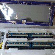 Trenes Escala: LIMA HO RENFE,ANTIGUO AUTOMOTOR FIAT ALN (BADAJOZ). Lote 142990194