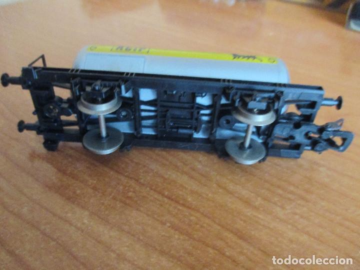 Trenes Escala: VAGON DE TREN CISTERNA LIMA H0 AGIP - Foto 3 - 144349894