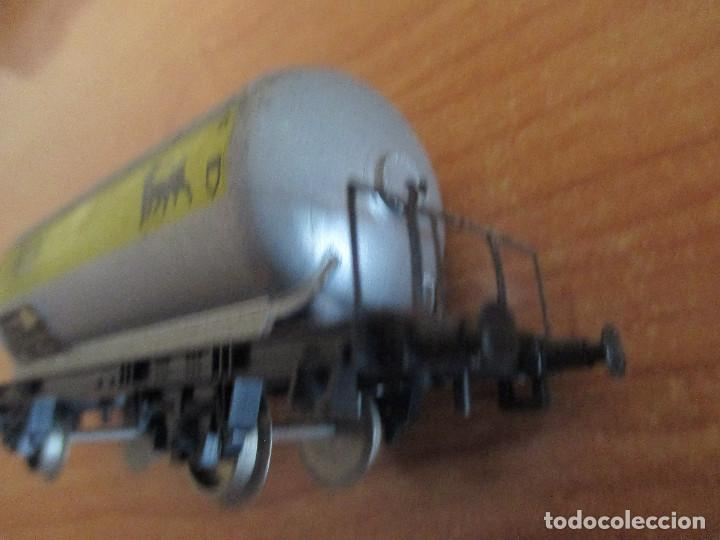 Trenes Escala: VAGON DE TREN CISTERNA LIMA H0 AGIP - Foto 6 - 144349894