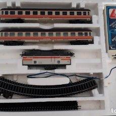 Trenes Escala: TREN ESCALA H0 , DE LA MARCA LIMA MADE IN ITALY AÑO 1983.. Lote 147838786