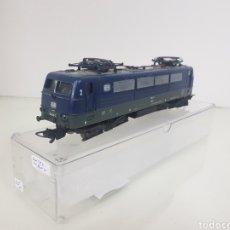Trenes Escala: LOCOMOTORA LIMA 184 111 710 Y TAL ESCALA H0 AZUL CORRIENTE CONTINUA 20 CM. Lote 149118682