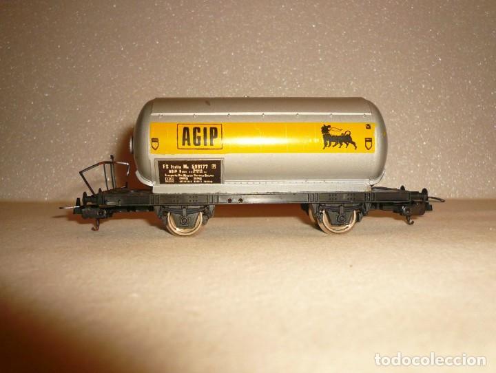 Trenes Escala: VAGON CISTERNA 2 EJES AGIP - Foto 3 - 151268370