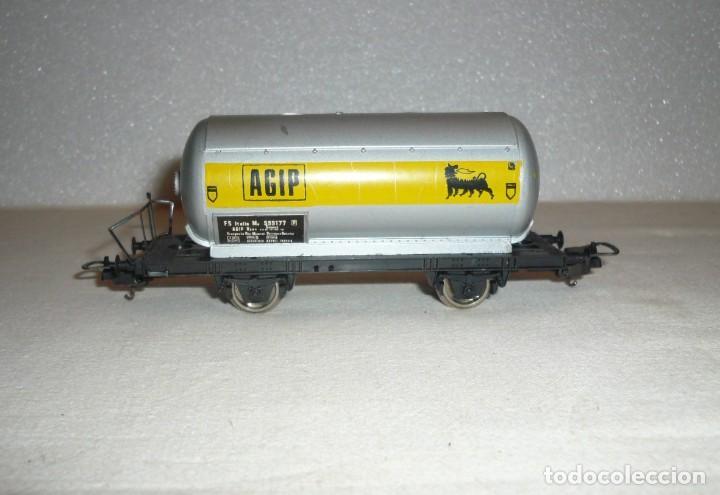 Trenes Escala: VAGON CISTERNA 2 EJES AGIP - Foto 7 - 151268370