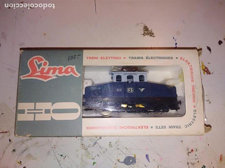 LOCOMOTORA LIMA H0 CON CAJA ORIGINAL REF. 3109 (Juguetes - Trenes a Escala H0 - Lima H0)